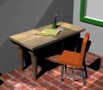 Pencils and Desk (Week 3)